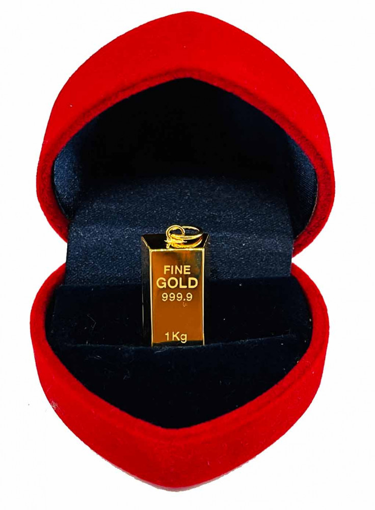 LOKET GOLD BAR (I)